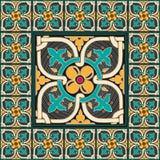 Königlicher traditioneller Mosaikausgangsdekor Stockfotos