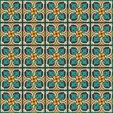 Königlicher traditioneller Mosaikwanddekor Stockbilder