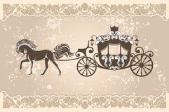 Königlicher Wagen stock abbildung