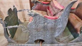 Königliches antikes palanquin lizenzfreie stockfotos