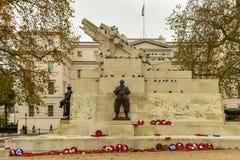 Königliches Artillerie-Denkmal - London lizenzfreie stockbilder