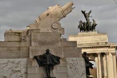 Königliches Artillerie-Denkmal Wellington Arch lizenzfreie stockfotos