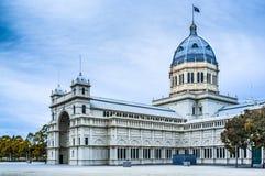 Königliches Ausstellungs-Gebäude in Melbourne lizenzfreie stockbilder
