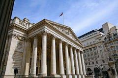 Königliches Börsengebäude, London lizenzfreie stockfotografie