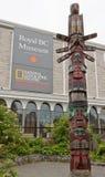 Königliches BC Museum Victoria Kanada Lizenzfreies Stockbild