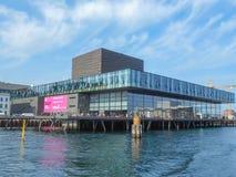 Königliches dänisches Schauspielhaus in Kopenhagen Stockbild