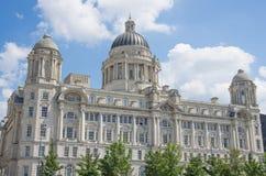 Königliches Gebäude Liverpool-Leber Stockfotos