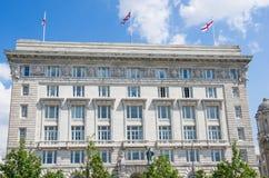 Königliches Gebäude Liverpool-Leber Stockbilder