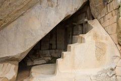 Königliches Grab, Machu Picchu, Peru Stockfotos