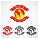 Königliches Haustier-Symbol Lizenzfreie Stockfotografie