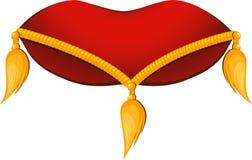 Königliches Kissen Lizenzfreies Stockfoto