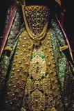 Königliches Kleid stockfotografie