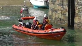 Königliches nationales Rettungsboot-Institut stock video