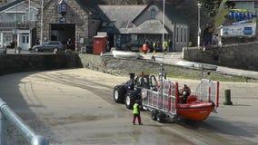 Königliches nationales Rettungsboot-Institut stock video footage
