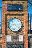 Königliches Observatorium in Greenwich, London Großbritannien Stockfotos