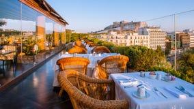 Königliches olympisches Hotel Athens stockbilder
