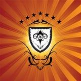 Königliches Schild Lizenzfreies Stockfoto