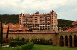 Königliches Schloss-Hotel Lizenzfreies Stockbild