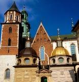 Königliches Schloss in Krakau Lizenzfreie Stockbilder