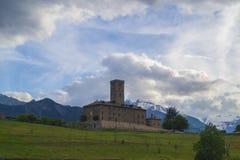 Königliches Schloss in Sarre, Aosta lizenzfreie stockfotos