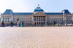 Königliches Schloss von Laken, Brüssel stockbild