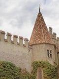 Königliches Schloss von Merano, Süd-Tirol stockfotografie