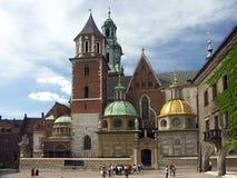 Königliches Schloss Wawel Stockfotografie