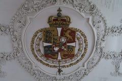 Königliches Wappen Stockbild