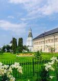 Königpaläste Tischler- und Natronsalpeterturm St. Sergius Lavra der Heiligen Dreifaltigkeit Lizenzfreies Stockbild