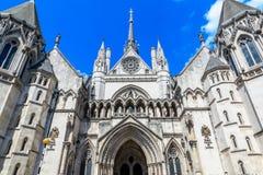 Königshöfe von Gerechtigkeit in London Lizenzfreies Stockbild
