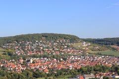 Königshofen Baden Deutschland Lizenzfreies Stockfoto