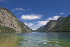 Königssee. The famous Bavarian Königssee in Germany, Europe Royalty Free Stock Photography