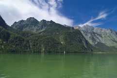 Königssee. The famous Bavarian Königssee in Germany, Europe Stock Photography
