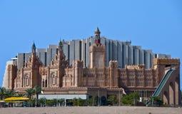 Königstadt ist ein berühmter Unterhaltungspunkt bei Eilat Lizenzfreie Stockfotos