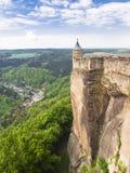 Königstein Festung Lizenzfreie Stockfotografie
