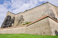Königstein Festung, Deutschland stockbilder