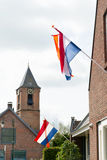 Königtag in Holland Lizenzfreies Stockbild