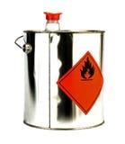 Können Sie mit feuergefährlichem Inhalt stockbilder