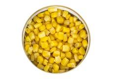 Können Sie vom Mais Lizenzfreies Stockfoto