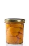 Können Sie von den Aprikosen im Sirup Lizenzfreie Stockbilder