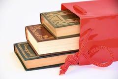 Köp av använda böcker Arkivfoto