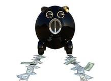 köp bilpengar sparar något Royaltyfri Illustrationer