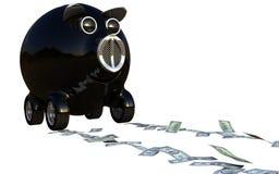 köp bilpengar sparar något Vektor Illustrationer