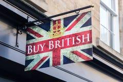 Köp britten Royaltyfria Foton