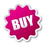 Köp klistermärken vektor illustrationer