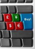 Köp yen! royaltyfri foto