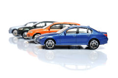 Köpa en ny bil Royaltyfria Bilder