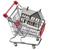 köpande hus Arkivbild