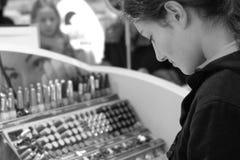 köpande makeup Royaltyfri Fotografi