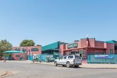 Köpcentret parkerar in västra Royaltyfria Foton